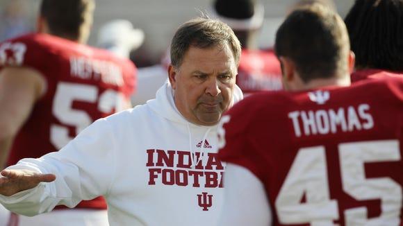 IU coach Kevin Wilson kept the recruiting momentum going Monday.