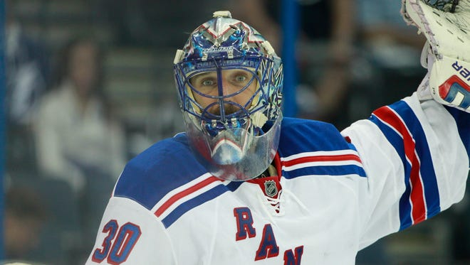 Henrik Lundqvist is 4-0 in Game 7s as the Rangers prepare for another one, this time  Friday vs. the Lightning.