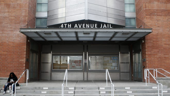 Maricopa County's 4th Avenue Jail in downtown Phoenix.