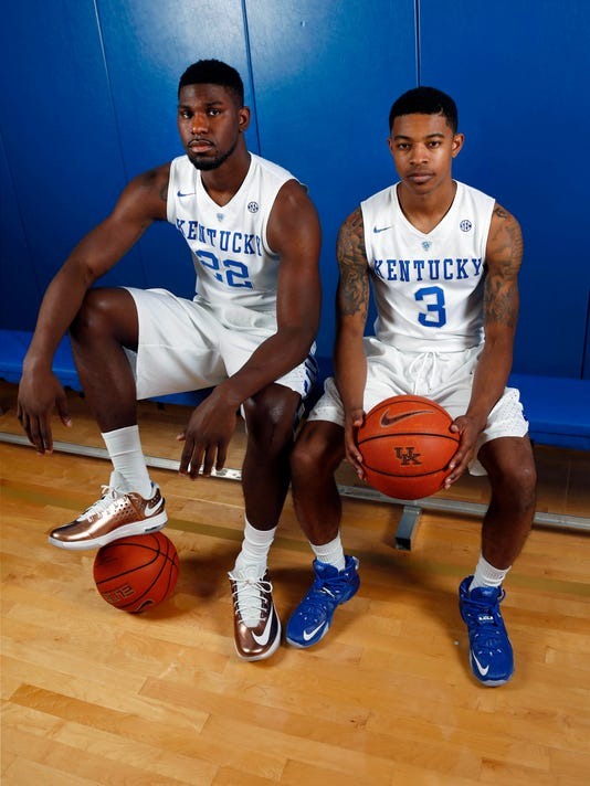USP NCAA BASKETBALL: KENTUCKY PHOTO DAY S BKC USA KY
