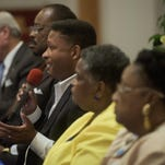 Mayoral Forum held at Weeping Willow Baptist Church