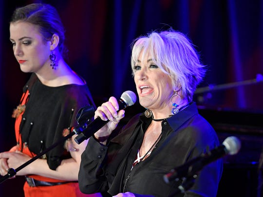 "Tanya Tucker sings at the CMHOF's ""Outlaws and Armadillos"""