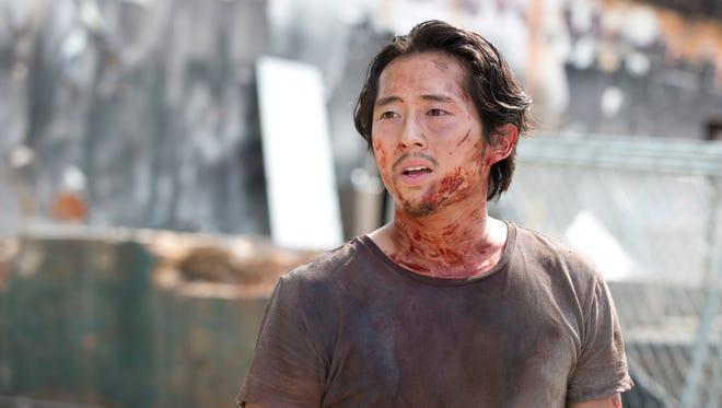 Steven Yeun as Glenn in 'The Walking Dead.'