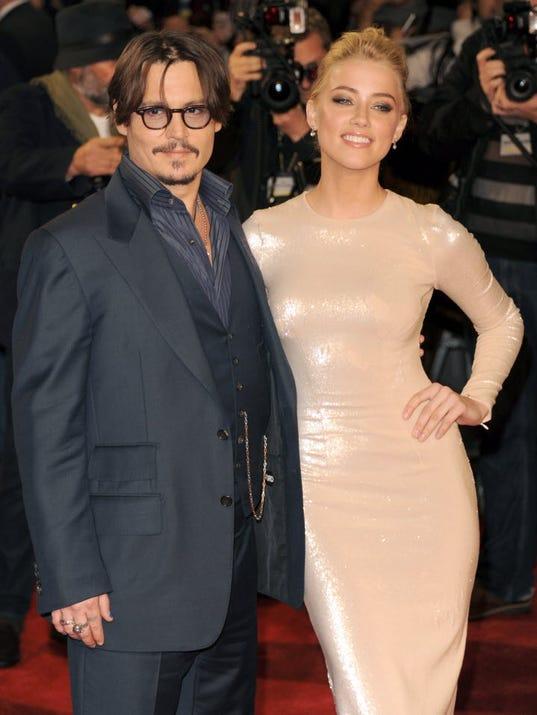 depp-heardJohnny Depp Amber Heard 2014