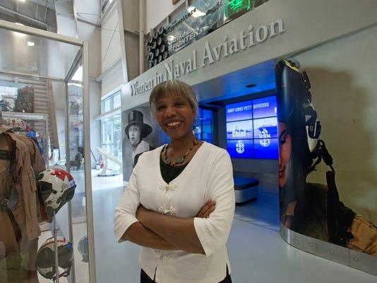 Naval Aviator-Brenda Robinson