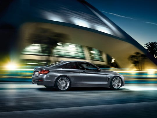 The 2014 BMW 428i thrusts from 0-60 mph in 5.7 seconds on the way to a top speed of 155 mph. If that doesn't do it for you, opt for the available 300 horsepower 3.0-liter turbo-six. Turbo power and sassy style makes the 428i a joy to drive.