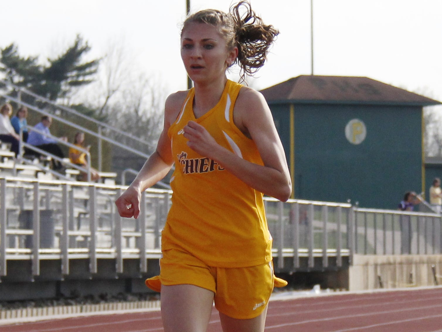 Kickapoo junior Allison Bailey looks to return to the high school track and field state championships in the 400- and 800-meter races after earning all state status in both events in 2014.