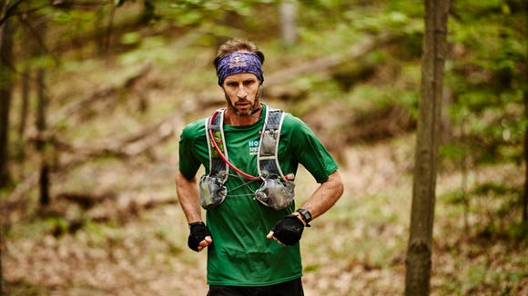 """Karl """"Speedgoat"""" Meltzer broke the Appalachian Trail thru-hike record in 2016 in 45 days 22 hours and 38 minutes."""