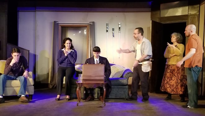 Bootless Stageworks in Wilmington revamps an old play about the IRS to focus on Obamacare for farcical romp through several social issues.