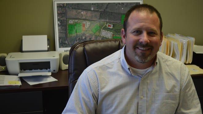Hendersonville Parks Director Brandon Rogers has resigned.