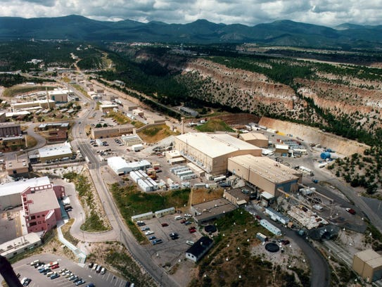 This undated aerial photo shows the Los Alamos National