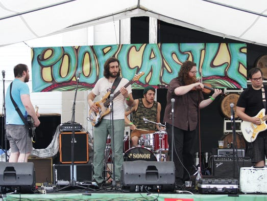 Freddie was a Boxer was the first band up at Poorcastle