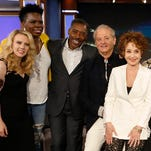 """""""Ghostbusters"""" stars past and present."""