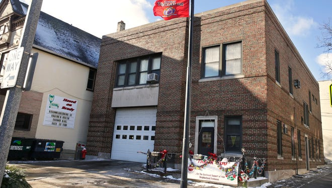 Milwaukee Fire Engine 6, located at the intersection of Brady Street and Franklin Place, closed Dec. 18, 2017.