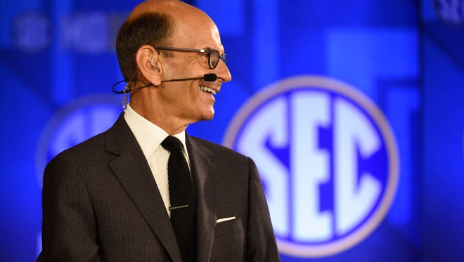 Paul Finebaum has been a staple on the SEC Network since it launched in 2014.