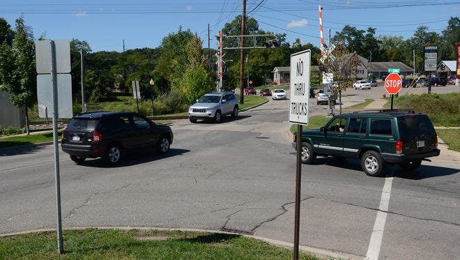 The Village of Milford is pondering a roundabout for the busy Y-shaped intersection at Summit and North Milford Road.