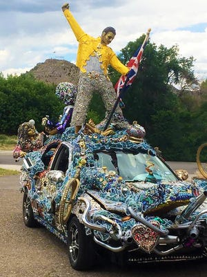 Bohemian Rhapsody art car.