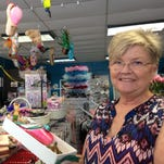 Kitty Hatton, owner of Melbourne Dancewear, has hosted her pointe shoe decorating contest for five years.