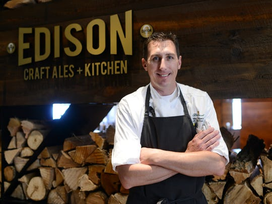 Chef Jake Schmidt is the chef for the Omni Grove Park Inn's Edison Craft Ale and Kitchen.