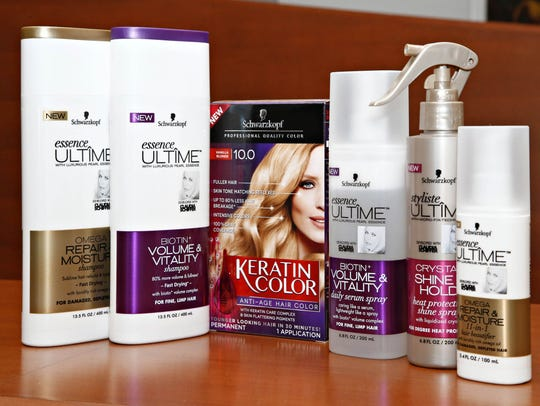 Swarzkopf hair care products, one of the lines of products