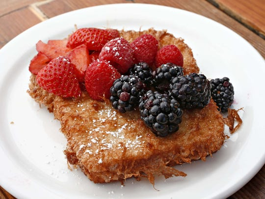 Seasonal french toast from The Original Breakfast House.