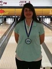 Audrey Wilson is leading Miami Valley Conference bowlers