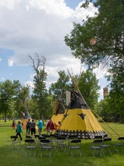 The Lewis and Clark Festival features a day of demonstrations,