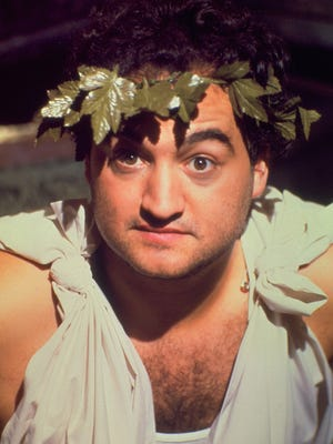 "John Belushi stars in the 1978 film ""Animal House."""