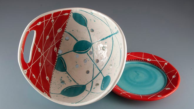 Jennie DiBeneditto's will be one of many artists selling at the annual LOCALS pottery sale.