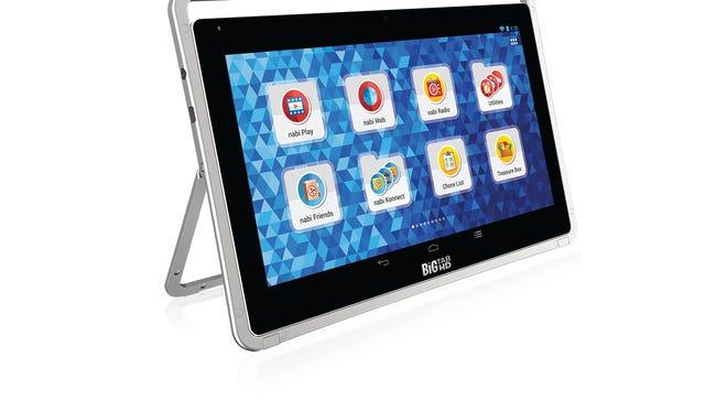 Nabi's Big Tab HD 24 tablet.