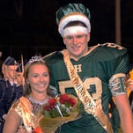 Regina Horan and Jake Bokuniewicz were announced Homecoming king and queen during halftime ceremonies at Hartland High School.