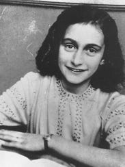 Anne Frank was a Jewish teenager forced into hiding