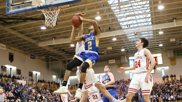 Ardsley's Zeke Blauner (2) puts up a shot during the