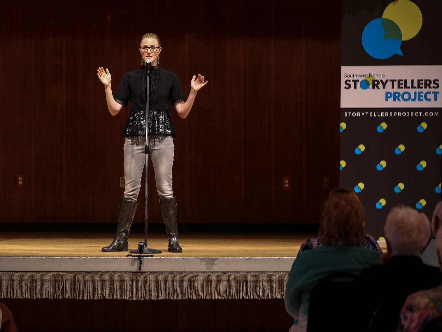 SW Florida Storytellers events will blend the authenticity of storytelling as an art form with the truthfulness, community-building and empowerment that's at the heart of journalism.