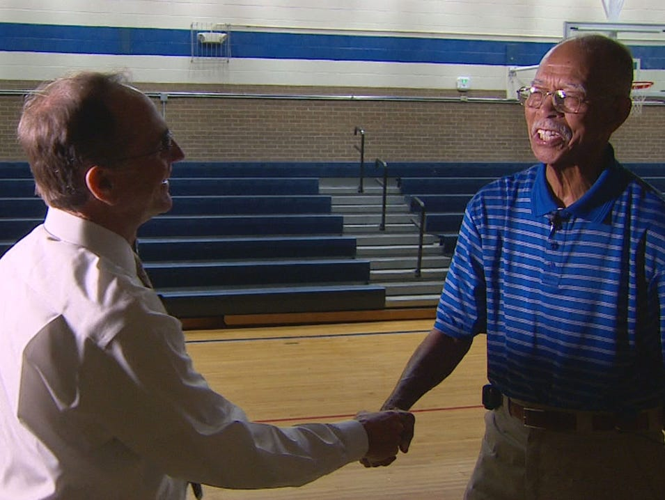 George Riba catches up with Robert Hughes Sr., the winningest high school basketball coach in history.