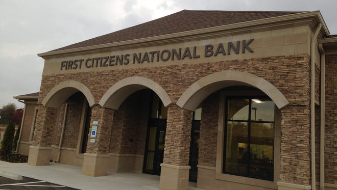 First Citizens National Bank will holds its grand opening from 11 a.m. to 2 p.m. today at 381 Walker Road in Thomsen Farms.