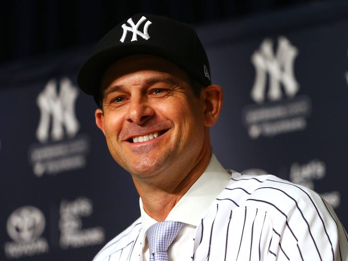 IN: Aaron Boone, Yankees
