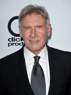 Harrison Ford arrives at the Hollywood Film Awards Gala.