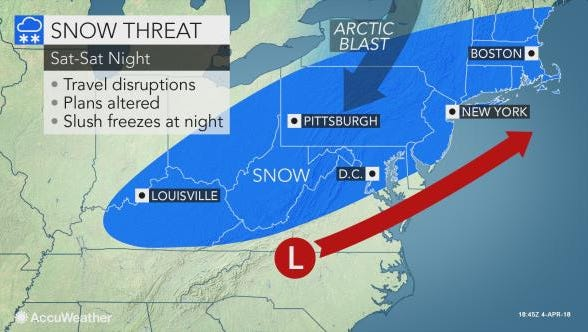 Snow could impact travel plans on Saturday in the Lower Hudson Valley.