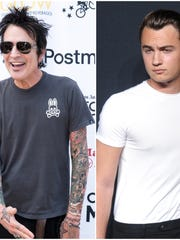 Tommy Lee and son Brandon are still feuding online,