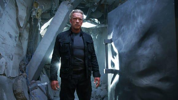 "Arnold Schwarzenegger returns in ""Terminator: Genisys."""