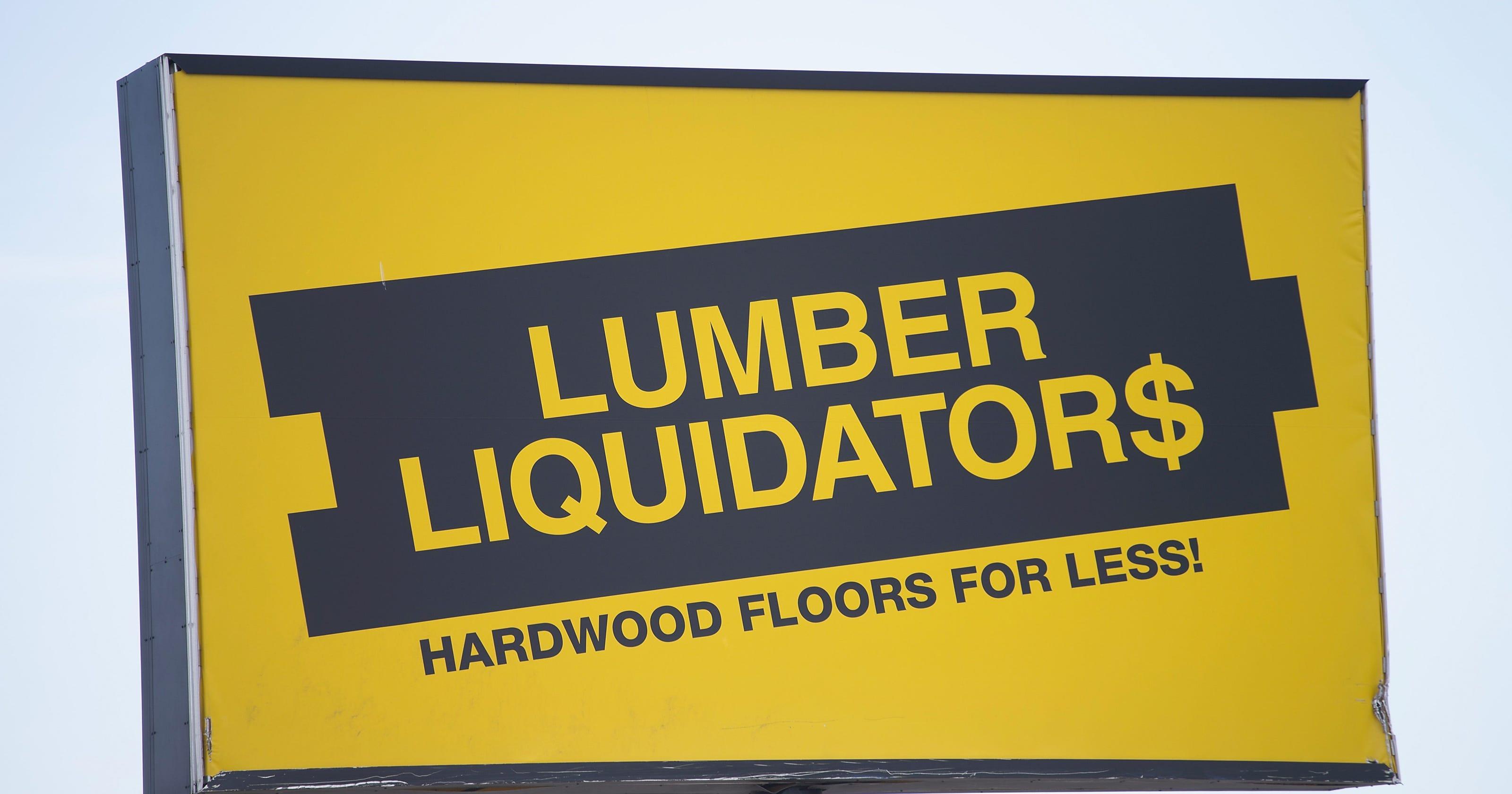 Lumber Liquidators suspends China-made flooring sales