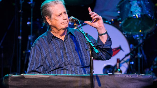 Brian Wilson performs on stage during Brian Fest: A Night To Celebrate The Music Of Brian Wilson at the Fonda Theatre in Los Angeles in March.