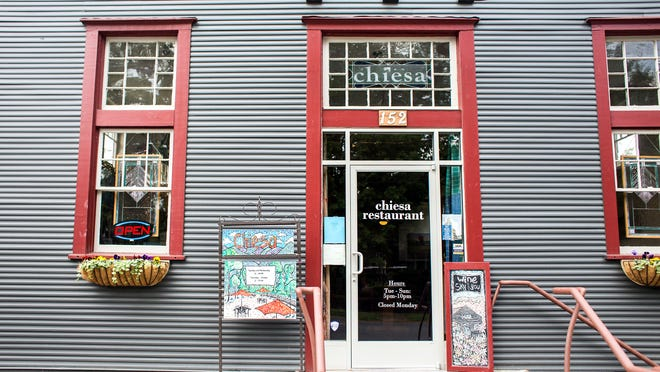 Chiesa, an Italian comfort food restaurant, opened in Montford at the corner of Montford Avenue and Chestnut Street in October. Owner Robert Willingham said the neighborhood restaurant has received great support from Montford and continues to grow with the warmer weather.