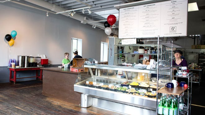 67 Biltmore Downtown Eatery & Catering opened Tuesday.