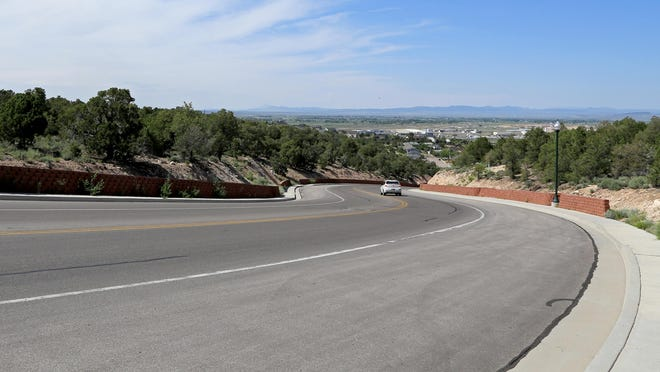 A new temple of The Church of Jesus Christ of Latter-day Saints will be built at this site, 300 S. Cove Drive, in Cedar City. A groundbreaking ceremony will take place on Aug. 8 at the large, tree-covered lot on the left side of the photograph.