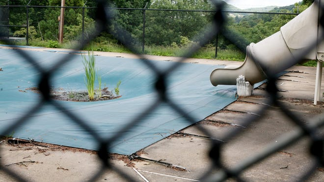 After being closed for five years, the Montgomery Hall Park Pool in Staunton has fallen into disrepair.