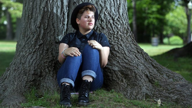 Jack Lambert, 16, is a transgender teen at Port Chester High School. He says he has been treated with acceptance by his peers, teachers and school administrators.