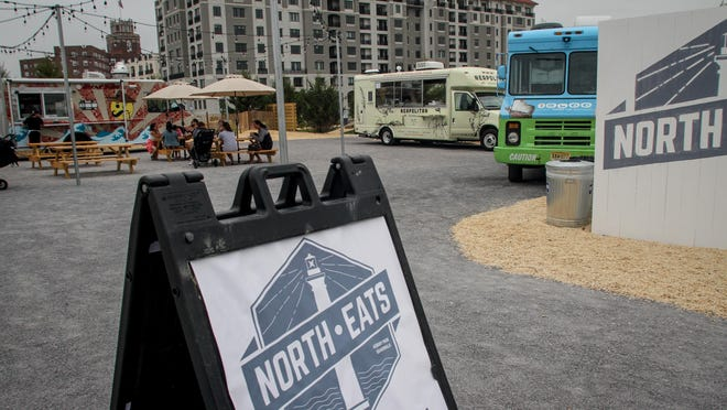 North Eats is now open at Seventh Avenue and the beach on the Asbury Park boardwalk.