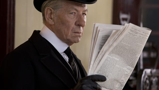 "Ian McKellen plays Sherlock Holmes as a frail and troubled man in ""Mr. Holmes."""